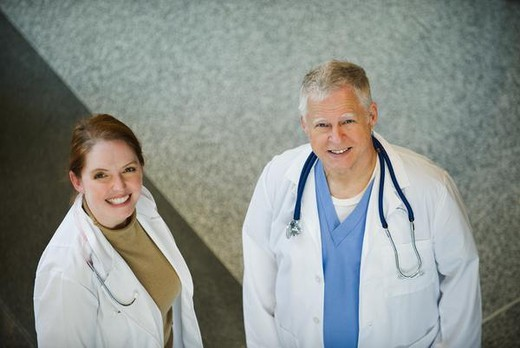 Stock Photo: 4276-4633 Doctors, portrait