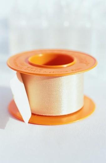 Roll of adhesive bandage : Stock Photo