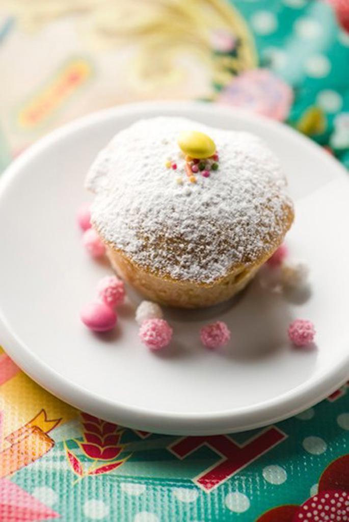 Berry shortbread delight : Stock Photo