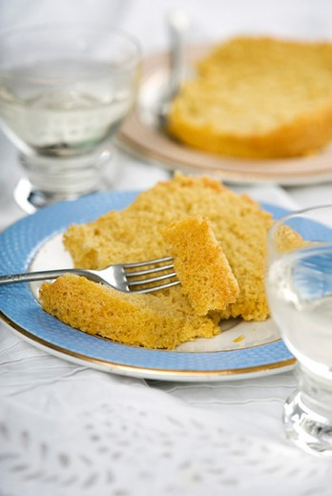 Stock Photo: 4277-1110 Savoy cake