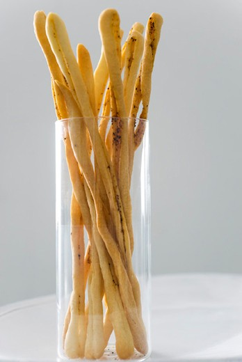 Stock Photo: 4277-1282 Breadsticks with espelette pepper