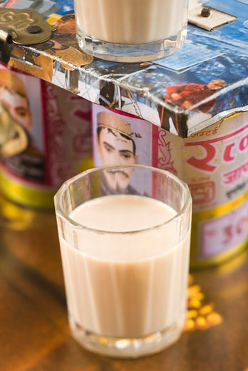 Stock Photo: 4277-1481 Masala chai