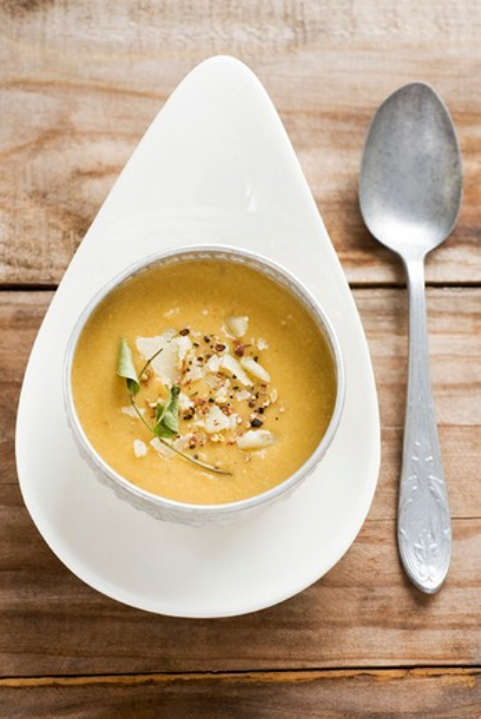 Stock Photo: 4277-1678 Chick pea soup