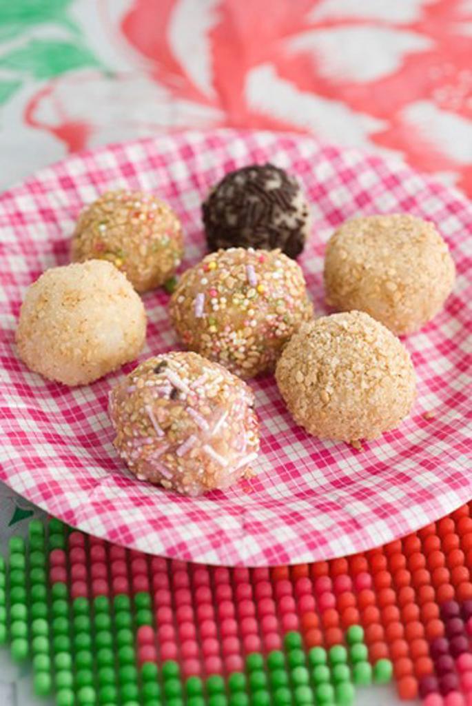 Sticky rice balls : Stock Photo