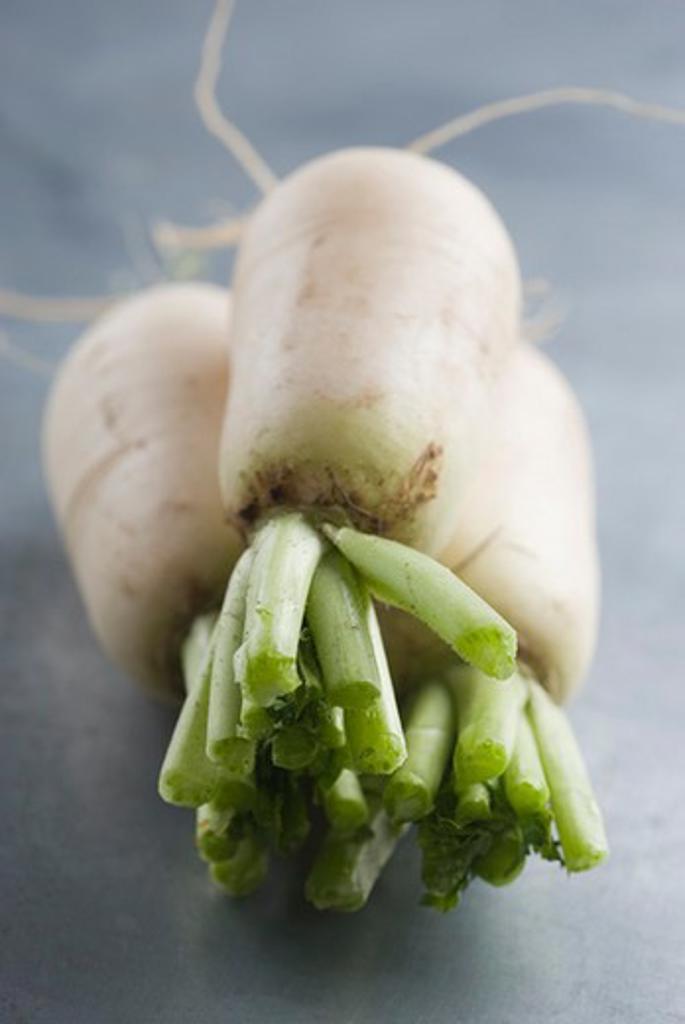 Stock Photo: 4277-2685 Fresh turnips