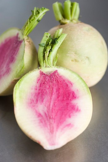 Stock Photo: 4277-2716 Mantanghong radishes