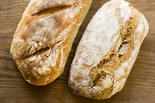 Stock Photo: 4277-2859 Loaves of fresh bread