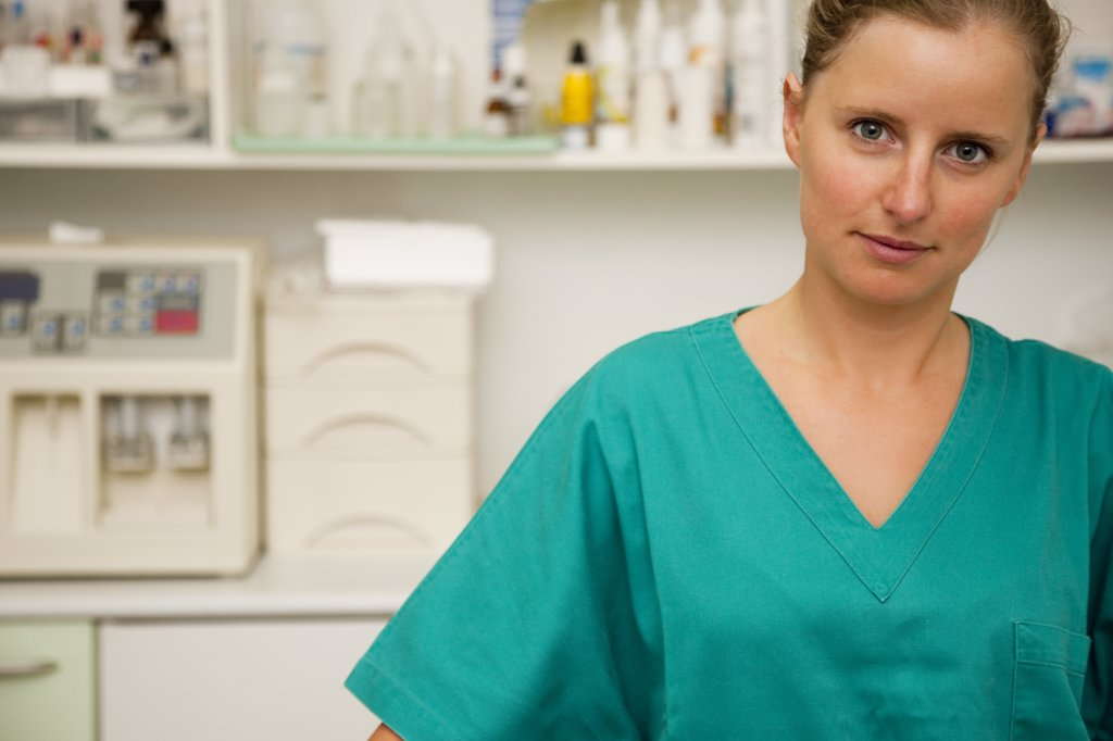 Stock Photo: 4278-3855 Portrait of a woman doctor