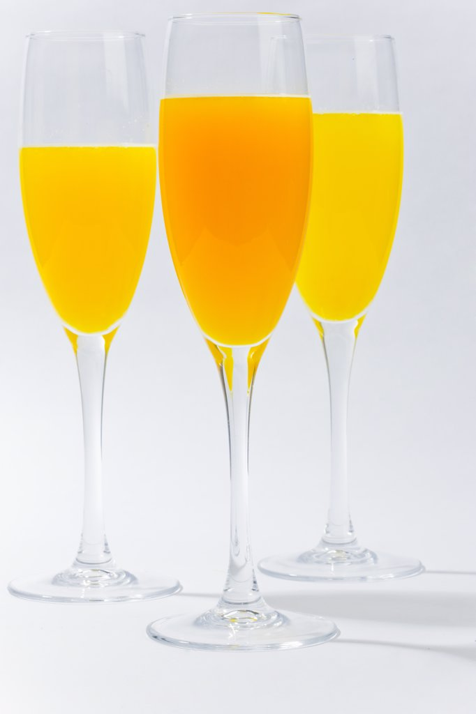 Stock Photo: 4278-7685 Bellini Cocktail