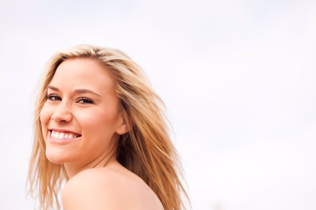 Stock Photo: 4278-9714 Smiling Woman