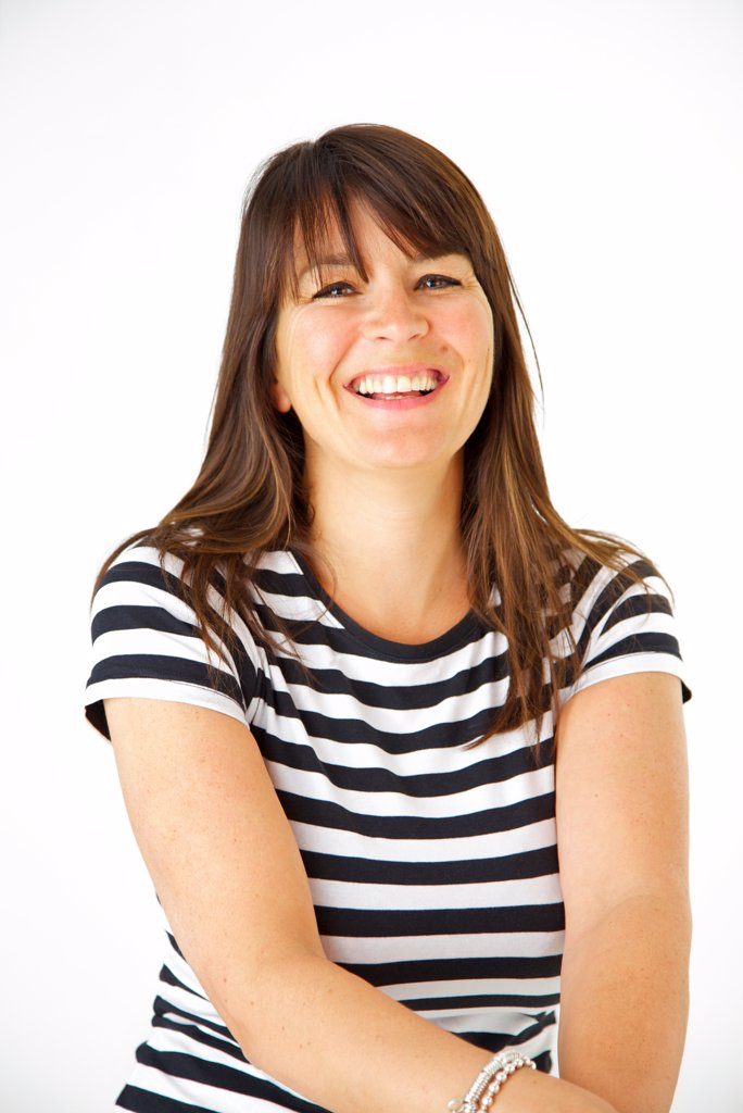 Stock Photo: 4278-9882 Portrait of Smiling Woman