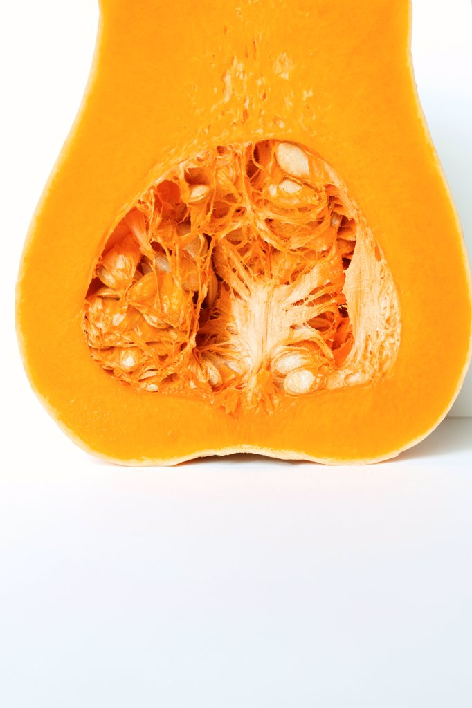 Stock Photo: 4278-9963 Half a Butternut Squash
