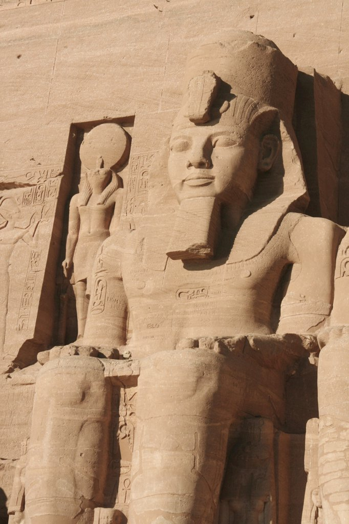 Stock Photo: 4279R-57434 Egypt, Abu Simbel - Great Temple