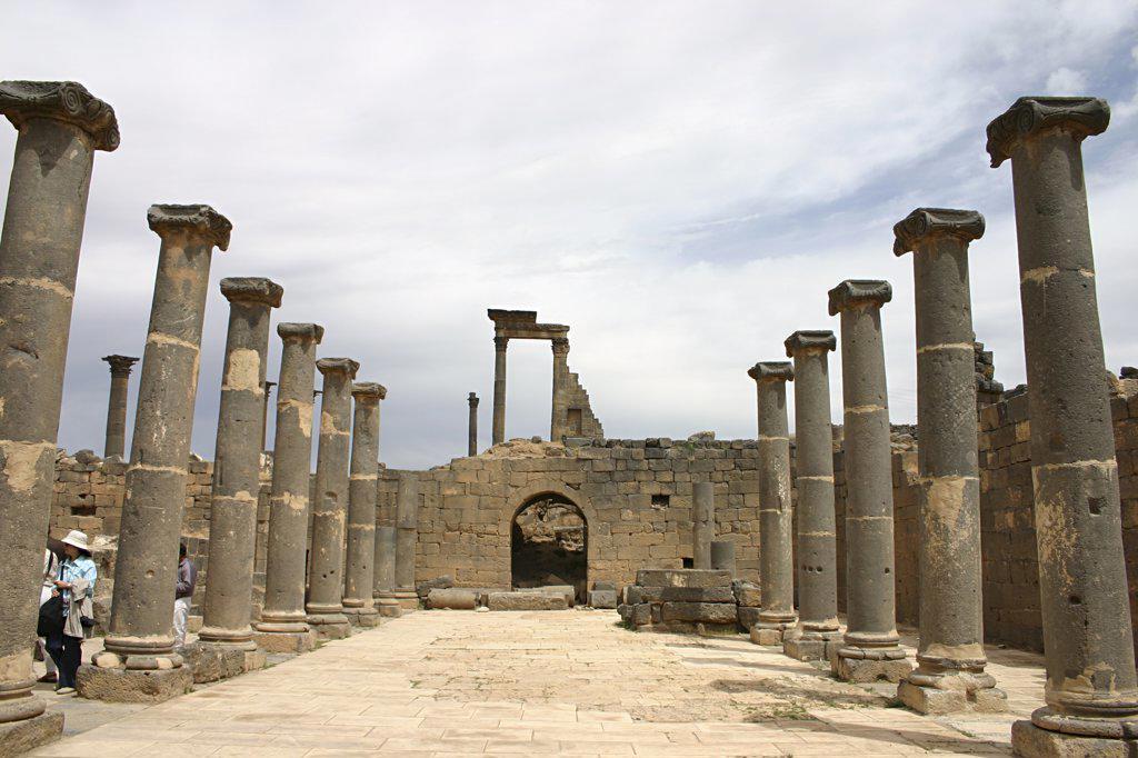 Stock Photo: 4279R-57804 Syria - Bosra
