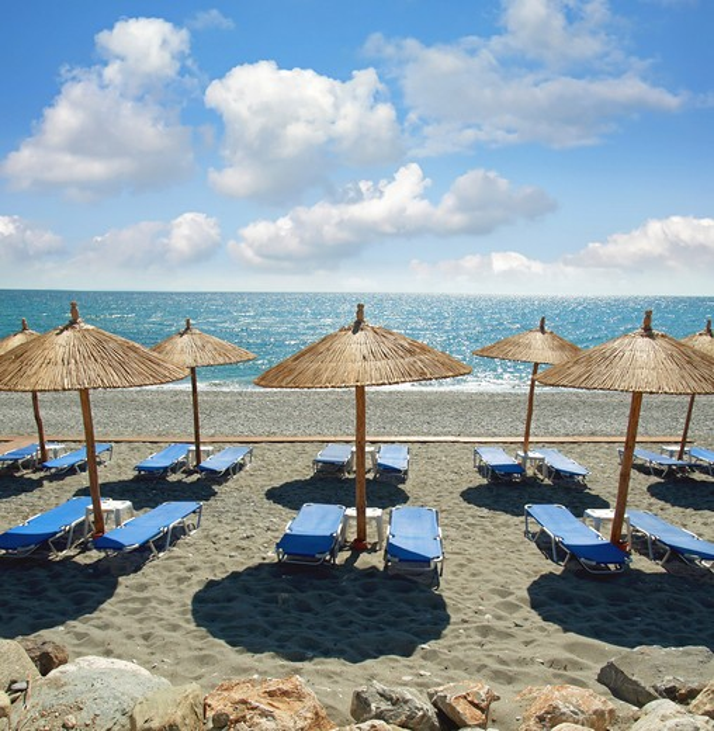 Greece - beach : Stock Photo