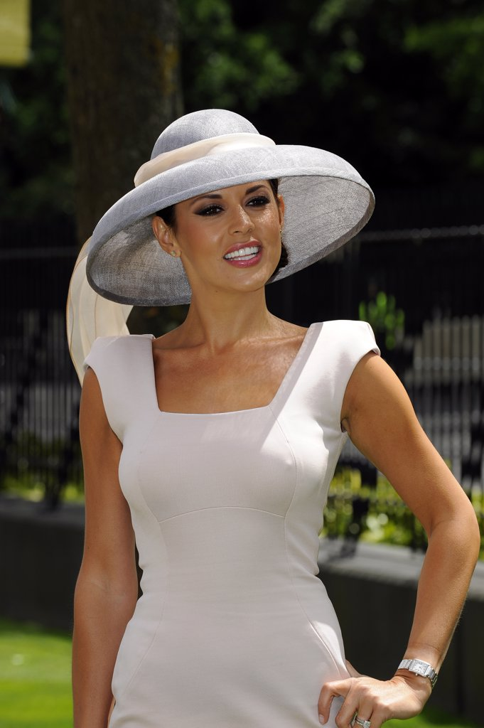 England, Berkshire, Ascot. Danielle Lineker attending day one of Royal Ascot. : Stock Photo