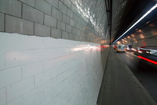 England, London, Rotherhithe Tunnel. The Rotherhithe Tunnel at Limehouse. : Stock Photo