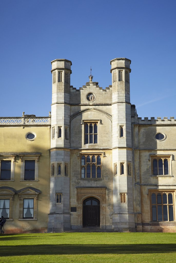 Stock Photo: 4282-30328 England, Bristol, Ashton Court. Ashton Court, a mansion house largely built in the 15th century and enlarged by the Smyth family who bought the estate in 1545. The building is now owned by the City of Bristol.
