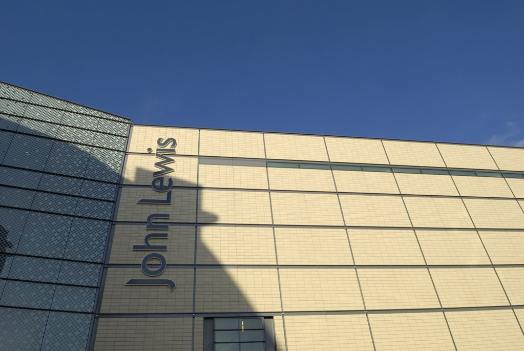 Stock Photo: 4282-6946 Wales, Cardiff, Cardiff. The new John Lewis store at the St David's development in Cardiff.