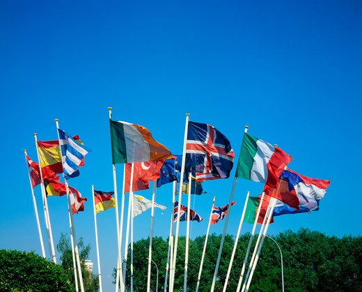 Stock Photo: 4285-13623 international flags