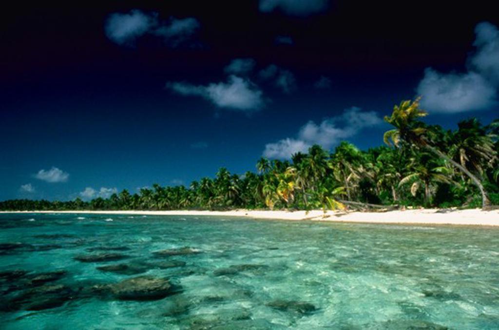 Stock Photo: 4285-16315 Tahiti, Tuamotu Islands