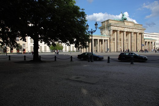 Stock Photo: 4285-18189 Germany, Berlin, Brandenburg Gate, Brandenburger Tor, Tiergarten