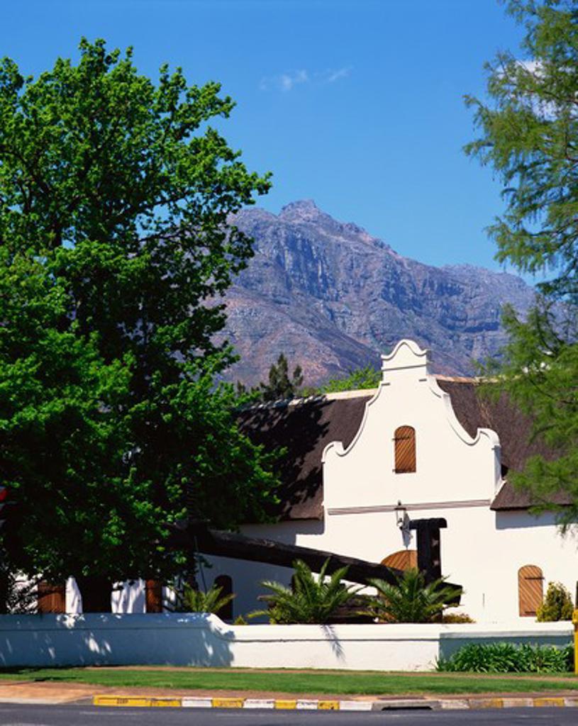 Stock Photo: 4285-19059 South Africa, Stellenbosch, Stellenryck Wine Museum