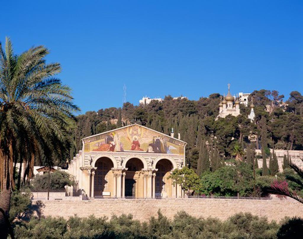 Stock Photo: 4285-19140 Israel, Jerusalem, Gethsemane, Church of all Nations