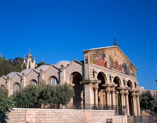 Stock Photo: 4285-19141 Israel, Jerusalem, Gethsemane, Church of all Nations