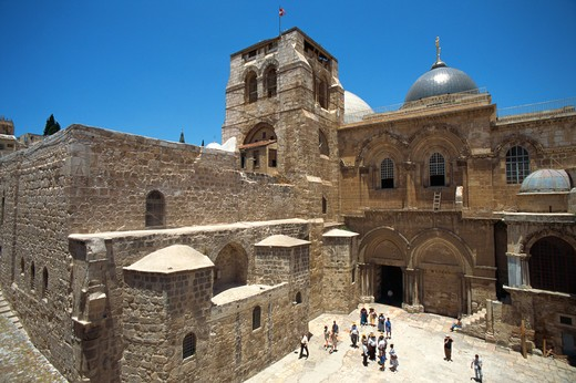 Stock Photo: 4285-19199 Israel, Jerusalem, Old City, Church of the Holy Sepulchre