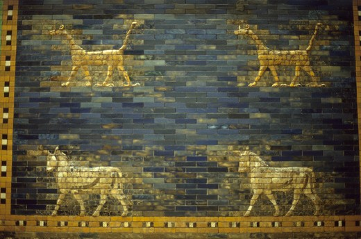 Stock Photo: 4285-19667 Germany, Berlin, Pergamon Museum, Ishtar Gate