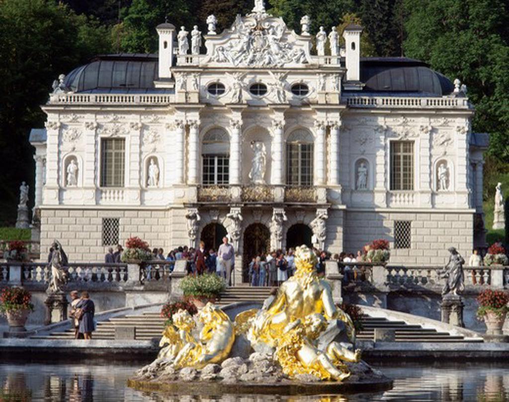 Stock Photo: 4285-19699 Germany, Bavaria, Linderhof Castle
