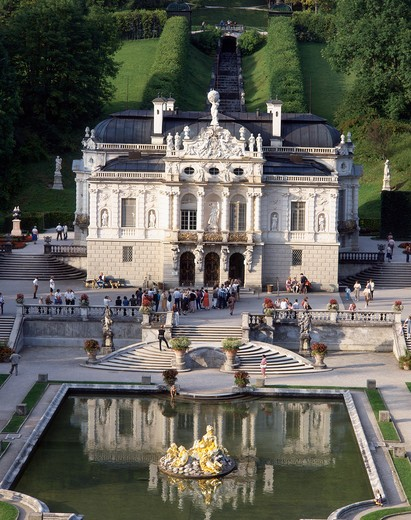 Stock Photo: 4285-19700 Germany, Bavaria, Linderhof Castle