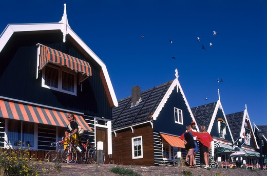 Holland, Marken, Fishing Village : Stock Photo