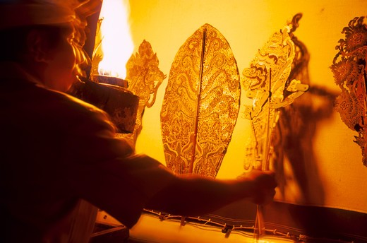 Stock Photo: 4285-21516 Java, Wayang Shadow Puppets
