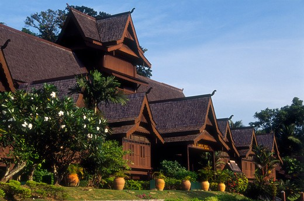 Stock Photo: 4285-21923 Malaysia, Melaka, Sultanate Palace