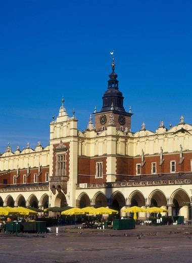 Stock Photo: 4285-22138 Sukiennice, Cloth Hall, Old Town, Market Square, Krakow, Poland