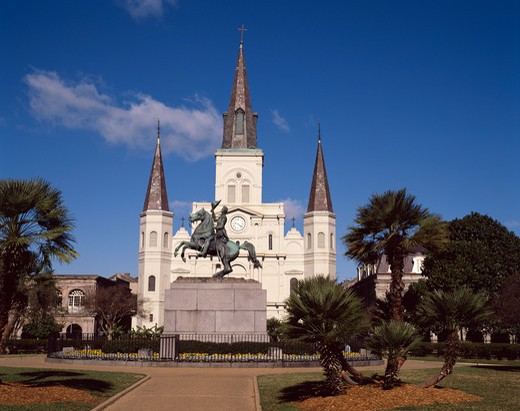 Stock Photo: 4285-23111 U.S.A.,New Orleans,Jackson Square