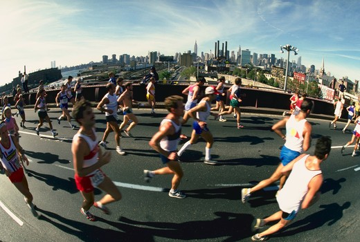 Stock Photo: 4285-3885 New York Marathon