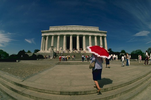 Stock Photo: 4285-3887 Lincoln Memorial WADC
