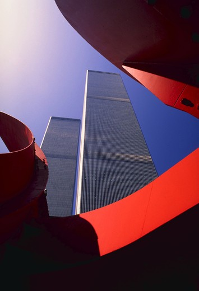 Stock Photo: 4285-3889 New York, World Trade Center