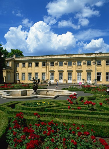 Wilanow Palace, Warsaw, Poland : Stock Photo