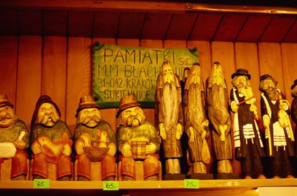 Stock Photo: 4285R-24649 Polish Dolls, Warsaw, Krakow, Poland