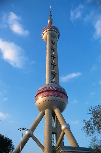 Stock Photo: 4285R-24938 China, Shanghai, Pudong, Pearl Tower