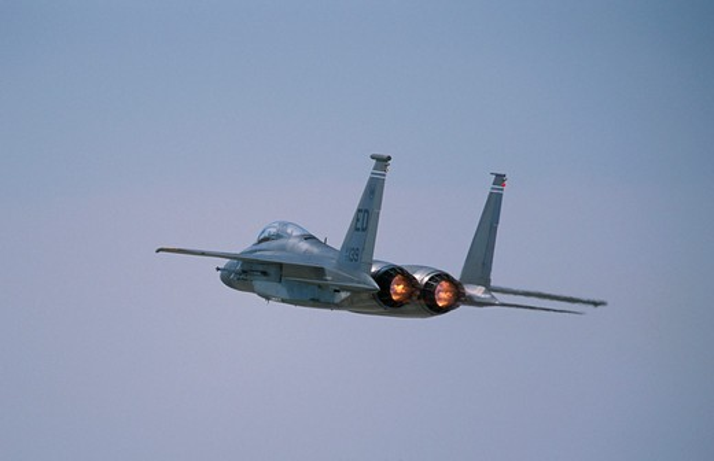 Stock Photo: 4286-17052 F15E Strike Eagle