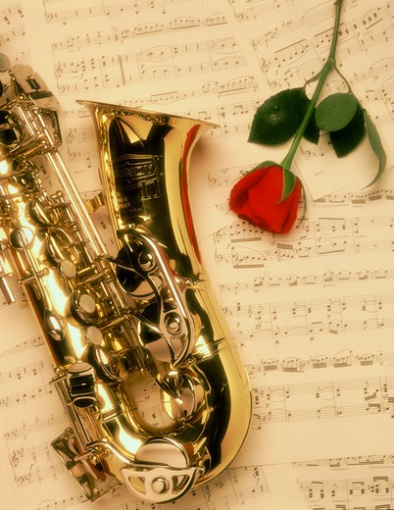 Stock Photo: 4286-17673 Music love arts