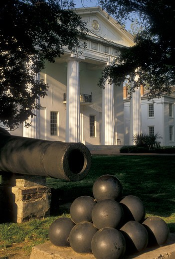 Little Rock, AR, Arkansas, Old State House Museum in the capital city of Little Rock. : Stock Photo