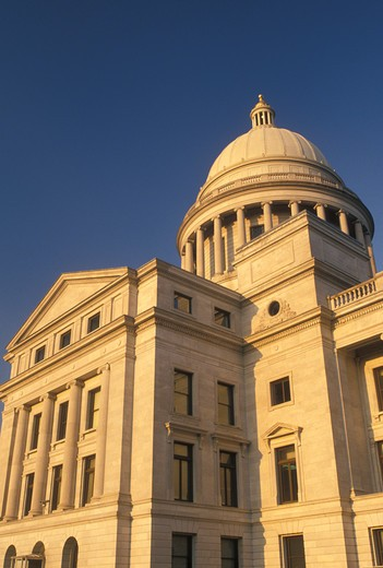 State Capitol, Little Rock, AR, Arkansas, Arkansas State Capitol Building in the capital city of Little Rock. : Stock Photo