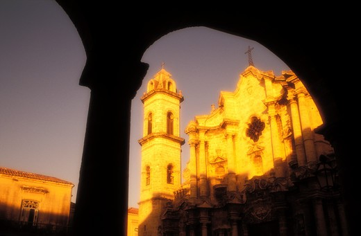 Stock Photo: 4286-23323 Cuba Havana Catedral de San Cristobal