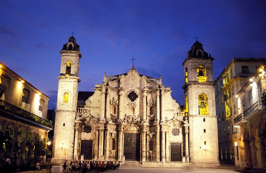Stock Photo: 4286-23344 Cuba Havana Catedral de San Cristobal
